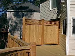 lattice privacy fence for deck fence gallery