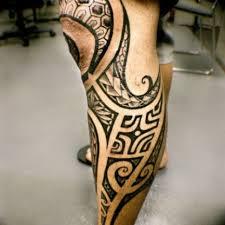 tattoo tribal na perna masculina masculinas na perna