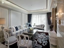design neoclassical living room european style villa living room