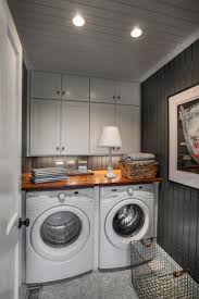 Ikea Laundry Room Wall Cabinets How To Trim Out Ikea Cabinets Chris Laundry Room 14