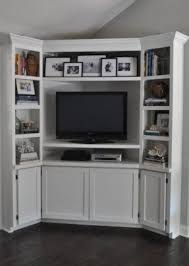 white corner television cabinet awesome white corner entertainment center pertaining to tv stand