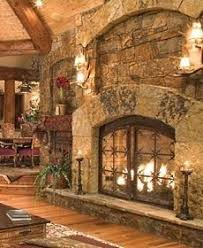 rustic stone fireplaces smooth hearth don t want to do inlay around tv as limits tv options