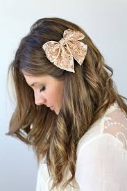 hair bow with hair 10 ways to wear hair bow