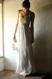 gold wedding dress bohemian wedding dress boho by larimeloom