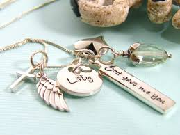 custom charm personalized charm necklaces accordion necklace