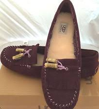 ugg womens driving shoes ugg australia suede comfort flats oxfords for ebay