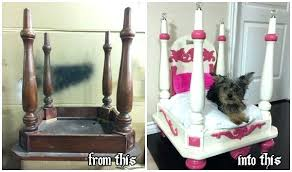 end table dog bed diy coffee table dog bed table pet dog bed coffee how turn old end wood