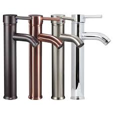 bathroom sink faucets amazon freuer acqua collection vessel bathroom sink faucet brushed