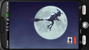 halloween background witch moon funny witch moon sky flight 3d deluxe hd edition 3d live wallpaper