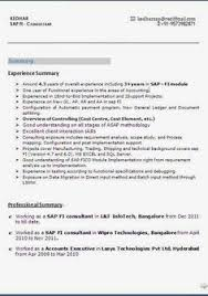 Sap Bi Resume Sample For Fresher by Resume Resume Format Download Pdf Abap Sample Resumes Stonevoices