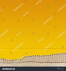 colored cardboard background paper texture yellow stock