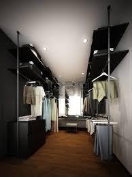 abstract sketch design of interior walk in closet stock photo