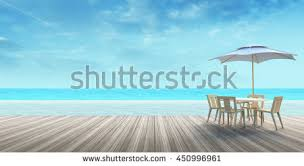 wood table top on blur beach stock photo 295857110 shutterstock