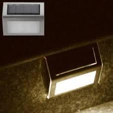 exterior solar stair lighting
