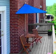 Outdoor Furniture Balcony by 1 2 Umbrella For Balconies Clever How To Decorate A Small