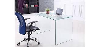 bureau console la redoute bureau console joan en verre tremp verre transparent la redoute