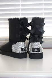 ugg boots australia made custom ugg australia bailey bow boots made w swarovski
