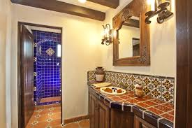 mexican tile bathroom designs talavera tile for mexican bathroom design within mexican tile