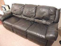 Black Faux Leather Sofa Cheap Replacement Parts For Recliners Find Replacement Parts For