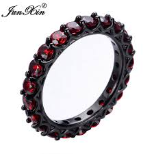 aliexpress buy junxin new arrival black junxin new charming zircon ring black gold filled