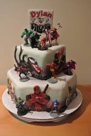 marvel cake toppers marvel vs dc comic cakecentral