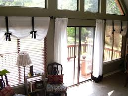 How To Hang Pottery Barn Curtains Hanging Curtains Around A Sliding Glass Door And Sliding Glass