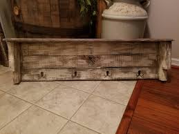 rustic pallet shelf shabby chic country western primitive