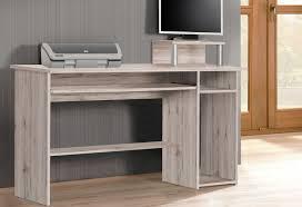 Schreibtisch Mit Computertisch Schreibtisch Pc Tisch Bürotisch Computertisch Mit Offenen Fächern