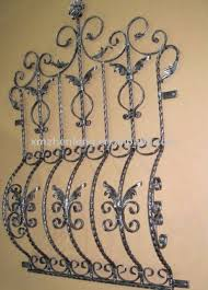 classic wrought iron window grill buy iron grill design product