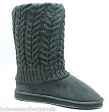 sweater boots grey sweater boots size 11 ebay