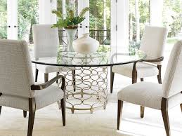 laurel canyon bollinger dining table with 72 inch glass top bollinger dining table with 72 inch glass top
