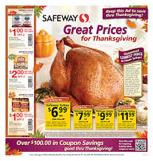 the thrifty it s time for the annual safeway turkey sale
