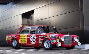 classic red mercedes fab wheels digest f w d 1971 mercedes benz amg 300sel 6 3 race