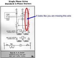 magnetic starter wiring an allen bradley 709 3 phase starter for