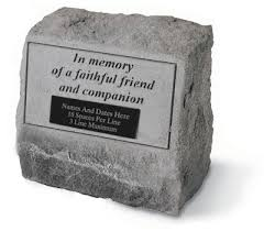 pet memorial garden stones garden pet urn memorial in memory of a faithful friend