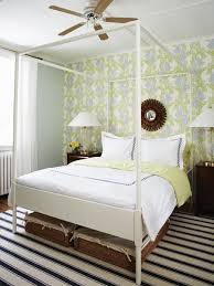 Ikea Canopy Bed Frame Ikea Edland Contemporary Bedroom Farrow Pale Powder