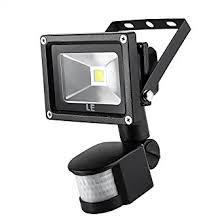 outdoor motion sensor light with camera le 10w super bright motion sensor flood light outdoor led flood