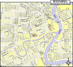 Canada Cities Map by Winnipeg Map