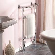 Small Heated Towel Rails For Bathrooms Hudson Reed Traditional Marquis Heated Towel Rail Chrome Ht302 F