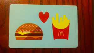 mcdonalds gift card discount free 5 mcdonalds gift card gift cards listia auctions