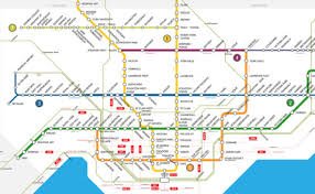 Nyc Subway Map With Street Overlay by New Fantasy Map Imagines The Ttc Network In 2054
