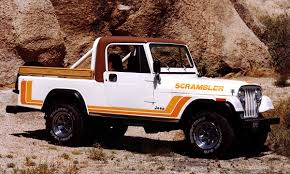 Jeep Scrambler For Sale Canada Jeep Pickup To Carry Scrambler Badge Report Says