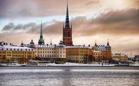 lexus is 300h neige descriptif ville neige stockholm sude paysage photographie fond d