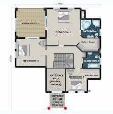 free house plan 3 bedroom house plan africa house plans building plans and