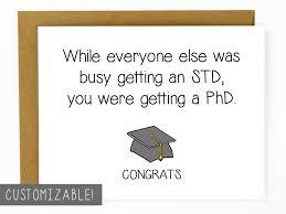 Funny Congratulations Meme - funny graduation card phd graduation gift