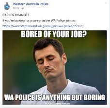 Internet Police Meme - wa police trying to out meme nsw fellowkids
