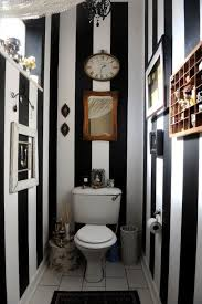 Gray And Black Bathroom Ideas Best 20 Striped Bathroom Walls Ideas On Pinterest Stripe Walls