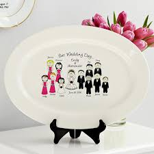 personalized serving platter ceramic personalized platters serving trays at personal creations