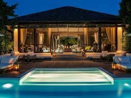 pool pavilion designs designer donna karan to sell u0027peace u0027 of turks and caicos compound