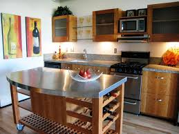 Wheeled Kitchen Islands Mobile Kitchen Island On Wheels Designs Ideas Marissa Kay Home
